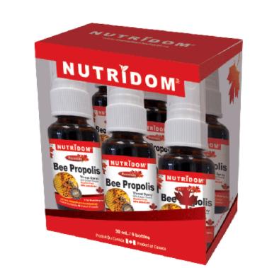 [Nutridom] Bee Propolis Spray Gift Set 6 x 30ml